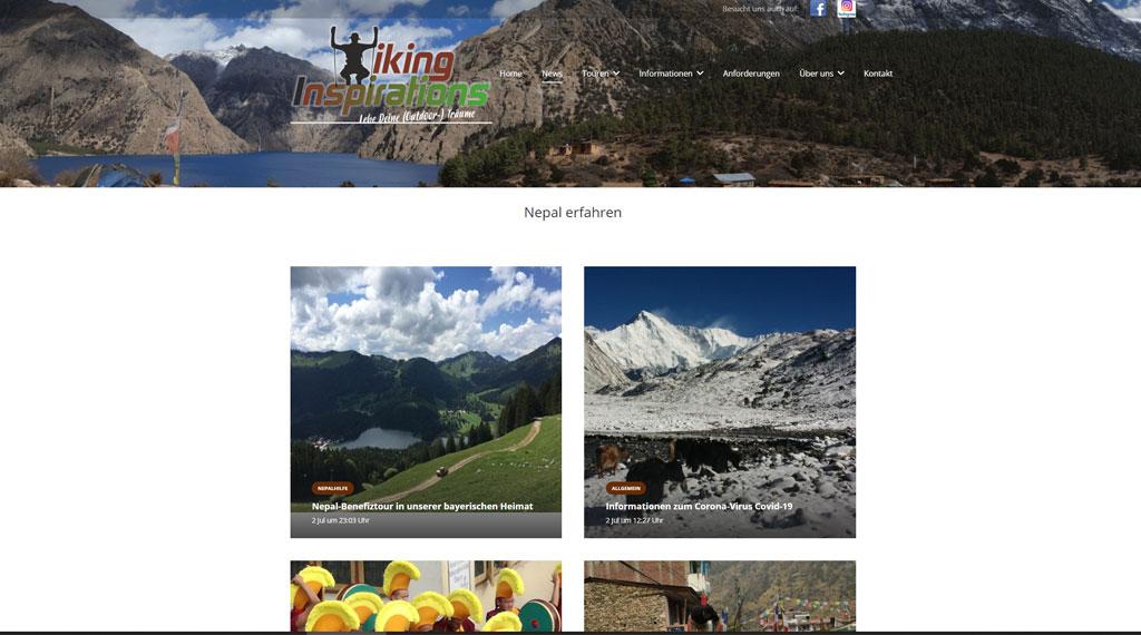 webseite für Reiseveranstalter erstellen lassen