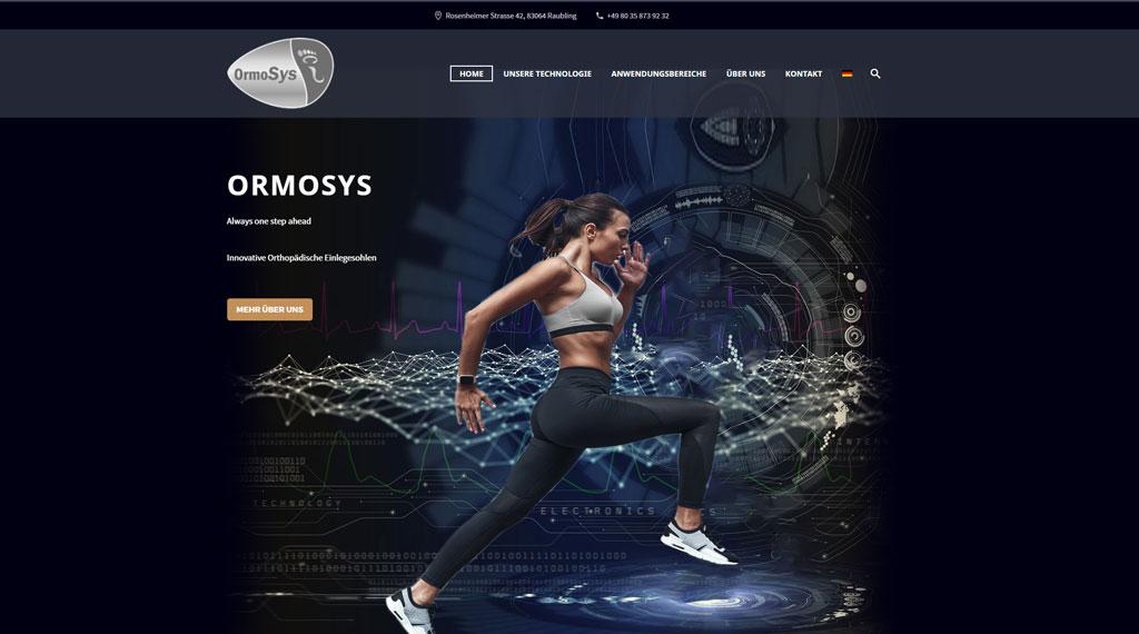 Referenz Homepage Agentur Aschau Ormosys