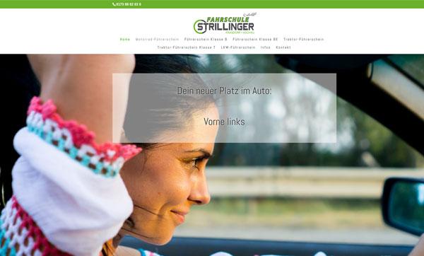 Homepage für Fahrschule machen lassen