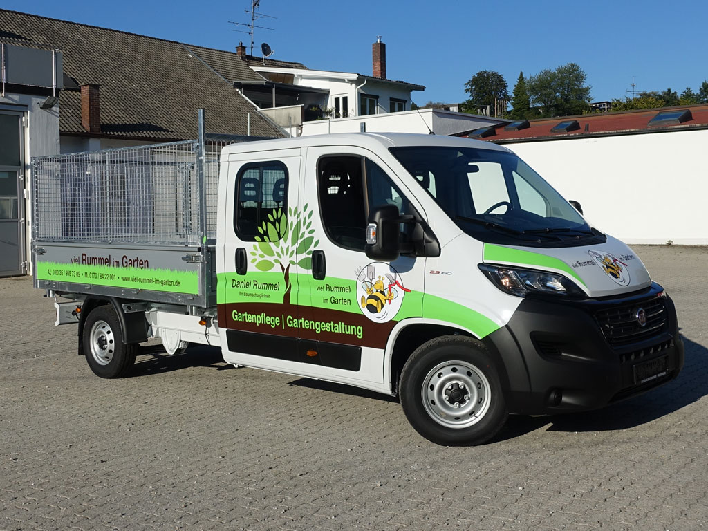 Firma für Fahrzeugbeschriftung Rosenheim